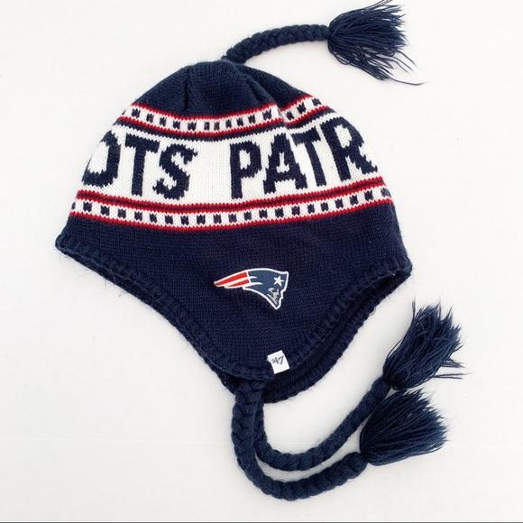 0fad31f7 New England Patriots Knit Winter Hat